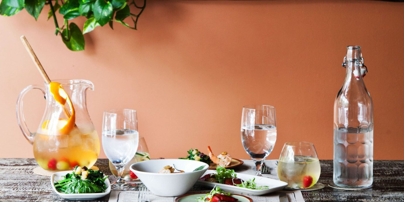 Trip Ideas Drink meal restaurant dining table