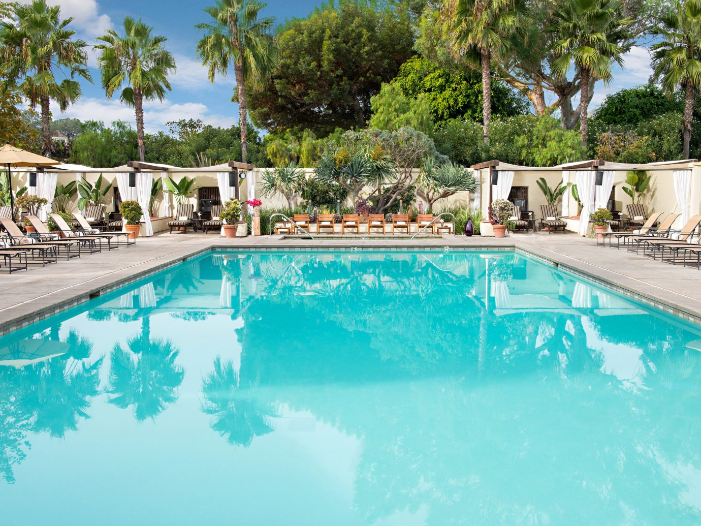 Outdoor Pool At Estancia Hotel And Spa In La Jolla, San Diego