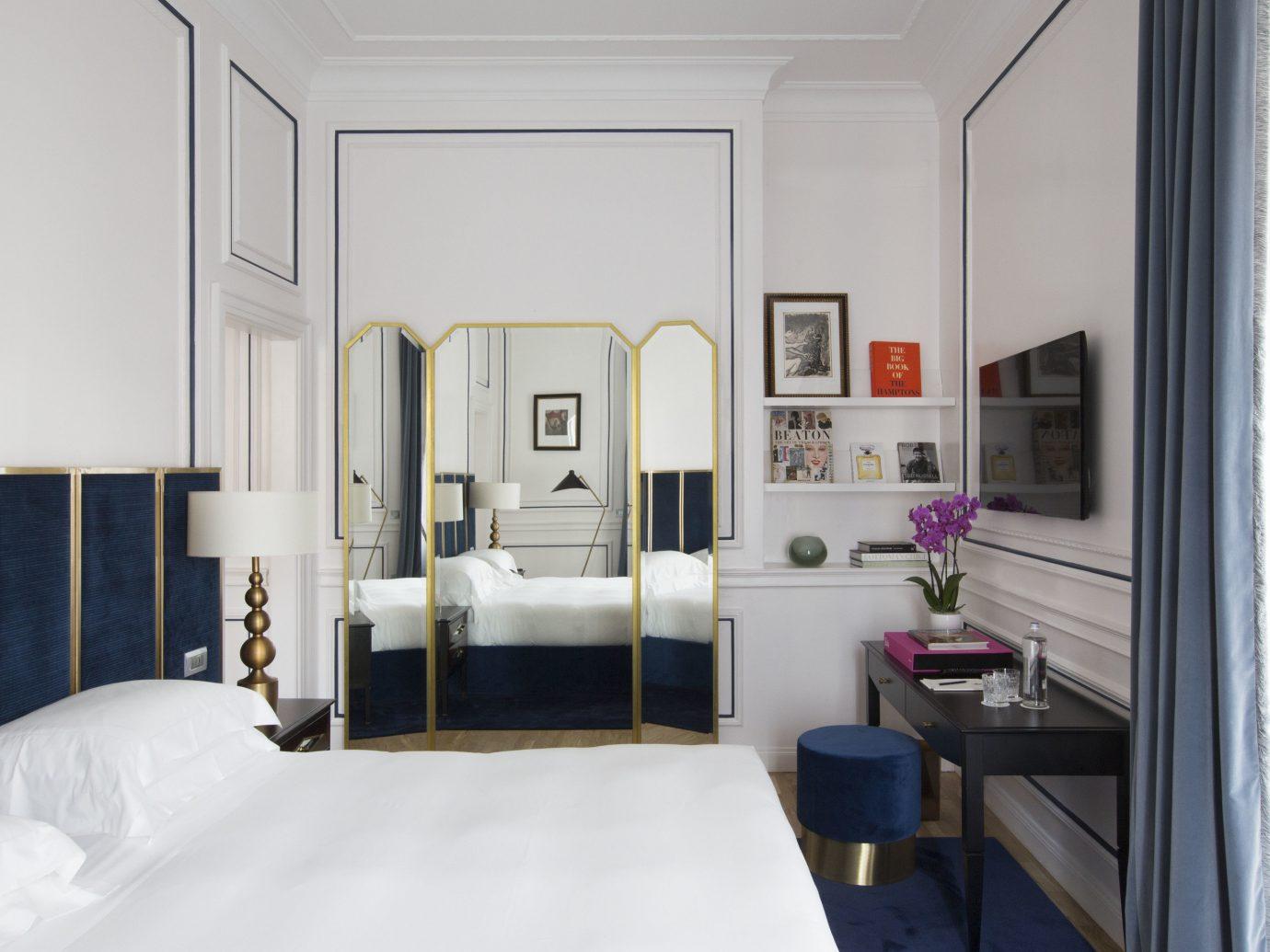 Boutique Hotels Hotels indoor wall bed room property home interior design floor cottage white real estate Bedroom Suite estate living room Design apartment loft