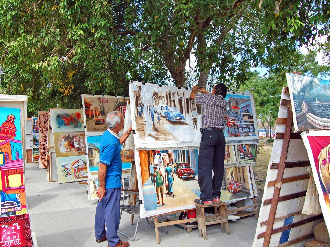 Jetsetter Guides tree outdoor fair art festival