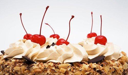 Food + Drink food dish Desert plate chocolate dessert pavlova cake produce sundae icing torte baked goods cuisine whipped cream meal eaten several