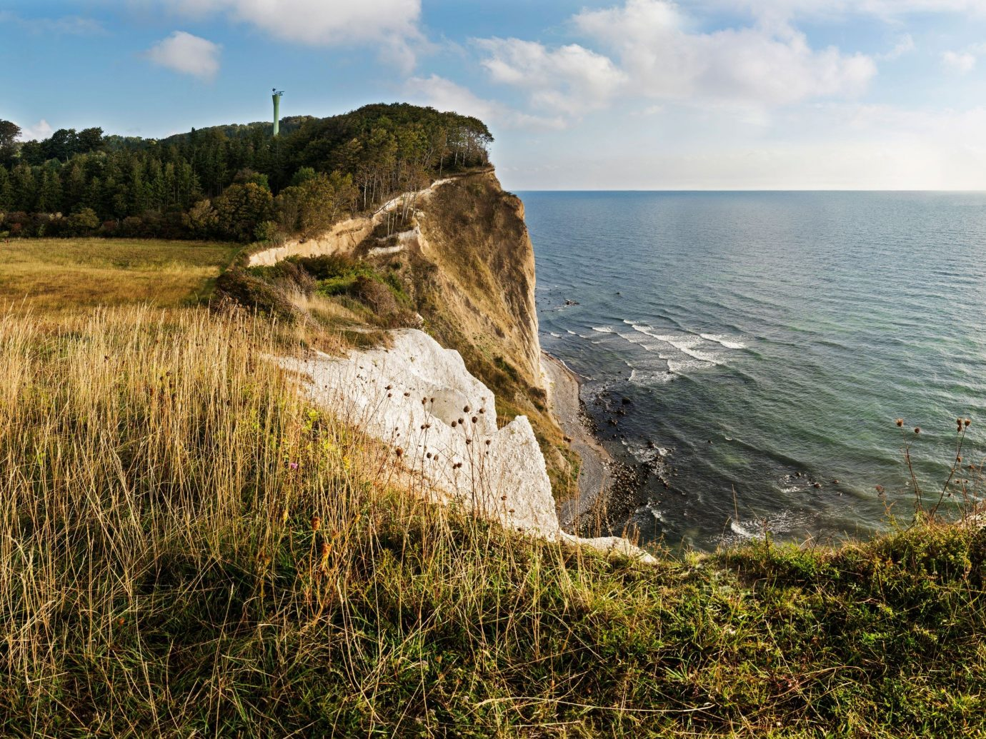 Trip Ideas outdoor sky grass water cliff Coast Nature shore landform geographical feature Sea body of water horizon terrain Ocean rock overlooking hill cape landscape Beach Lake bay cove geology distance
