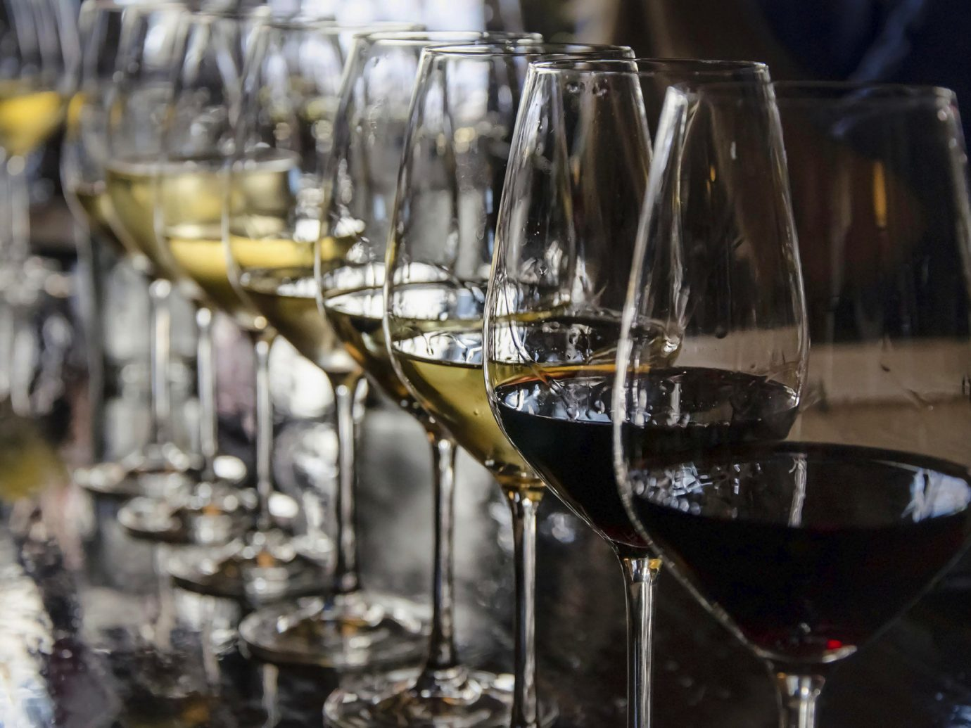 Food + Drink wine indoor alcoholic beverage Drink glass container distilled beverage restaurant alcohol