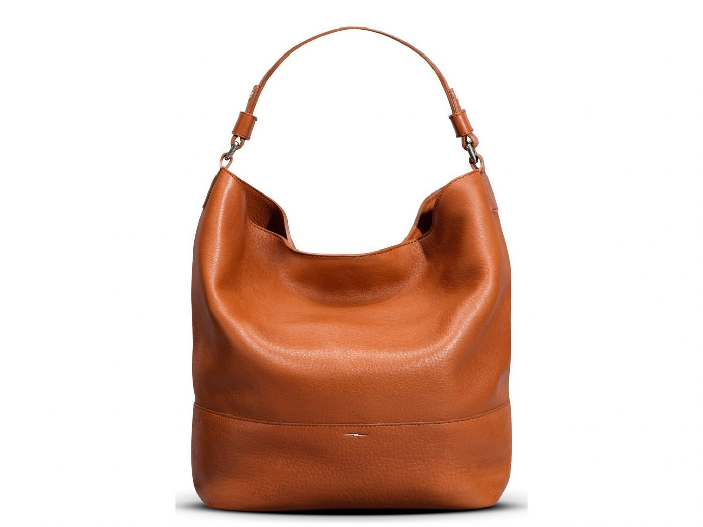 Packing Tips Style + Design Travel Shop Weekend Getaways bag shoulder bag brown accessory leather handbag orange hobo bag fashion accessory caramel color peach product product design