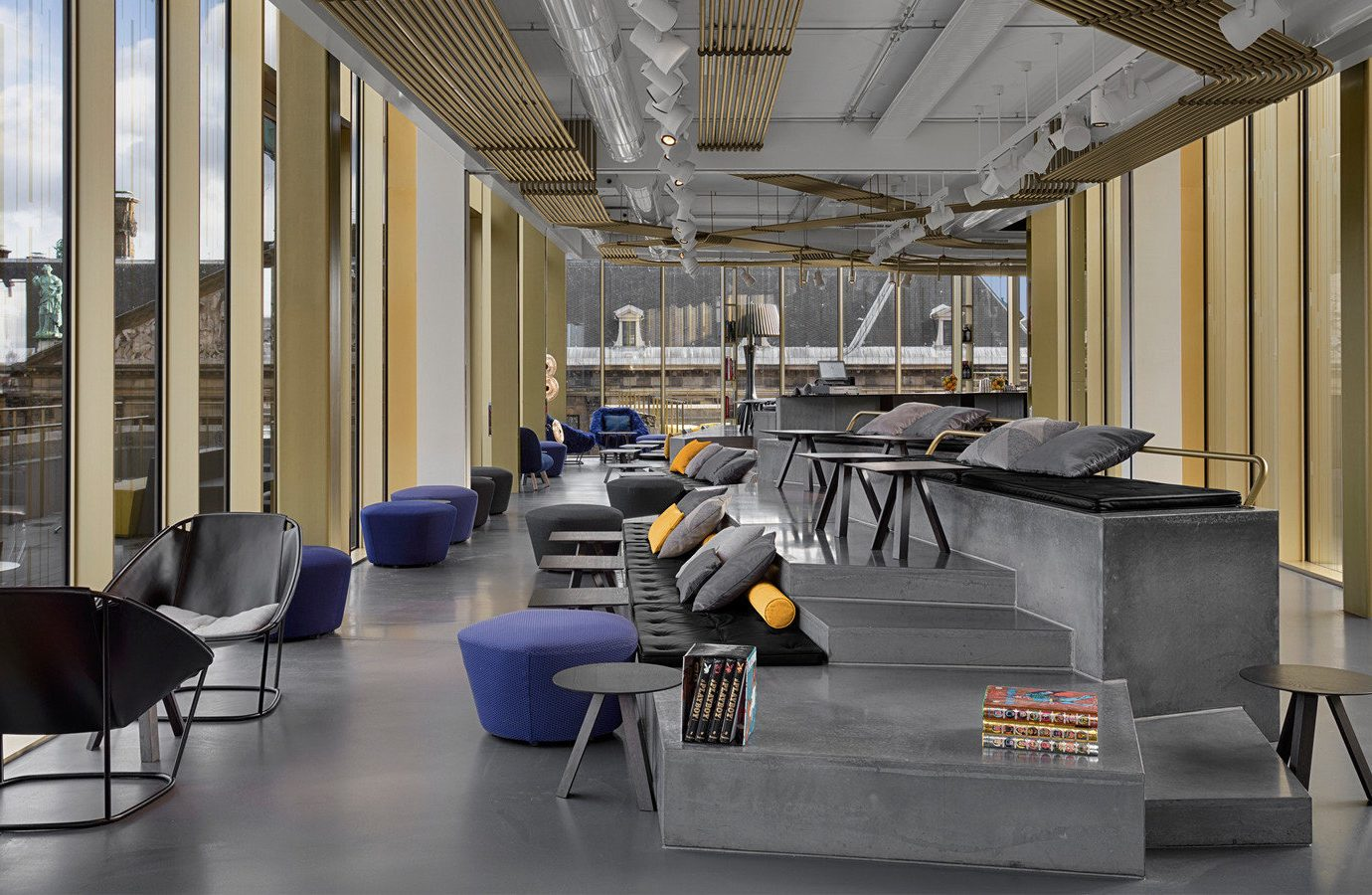 Amsterdam Hotels The Netherlands Architecture furniture interior design Lobby