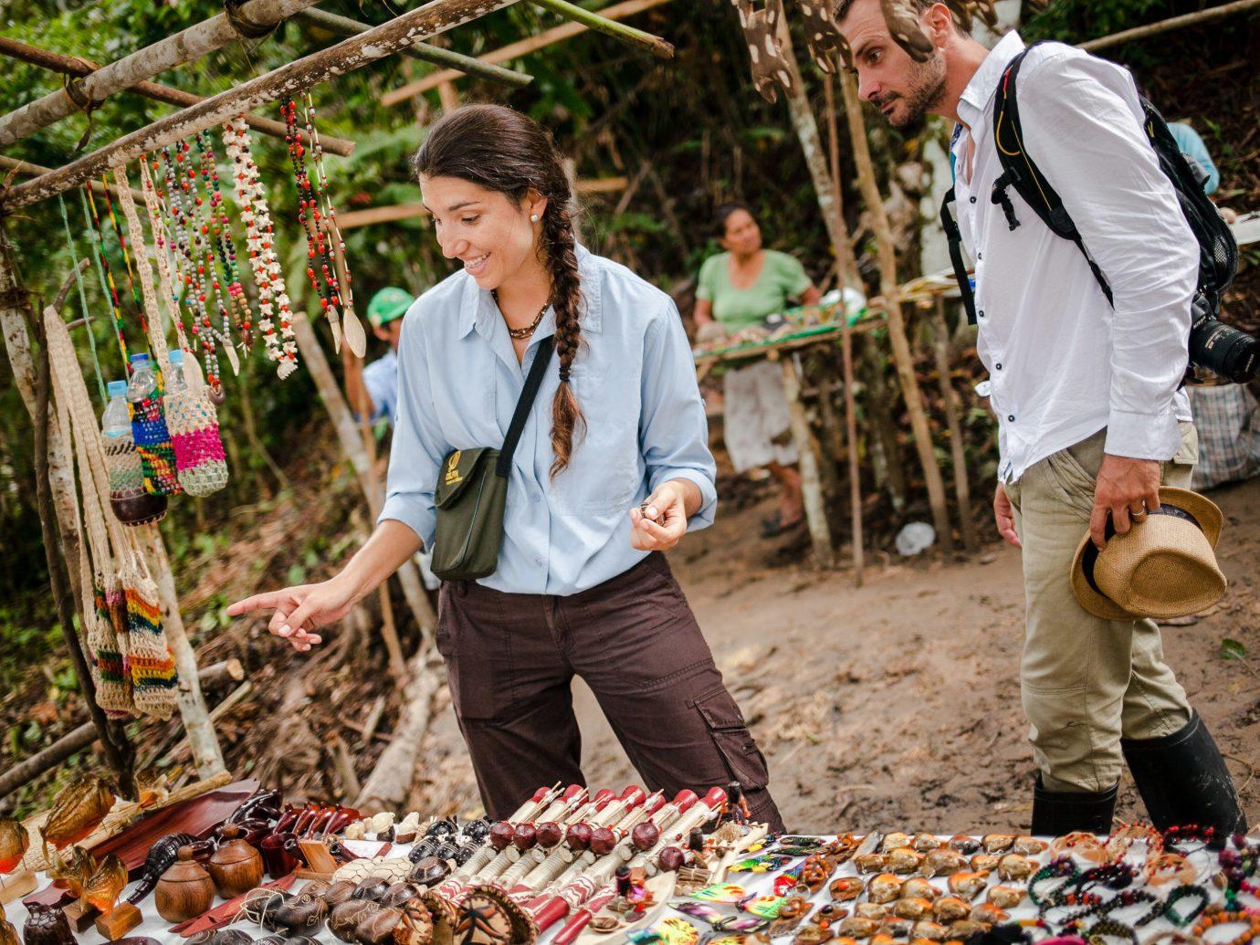 Travel Tips person outdoor marketplace tree plant recreation girl fun Garden