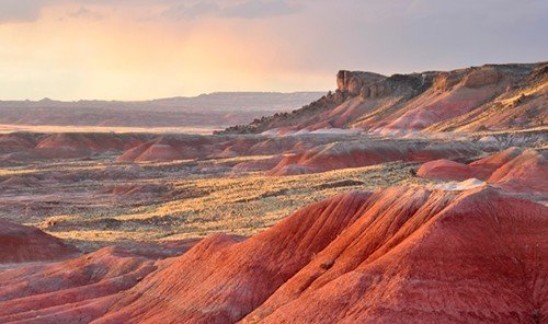 Style + Design valley sky canyon mountain Nature outdoor geographical feature landform butte wilderness natural environment badlands plain plateau landscape wadi geology soil steppe terrain formation panorama cliff Sunset highland