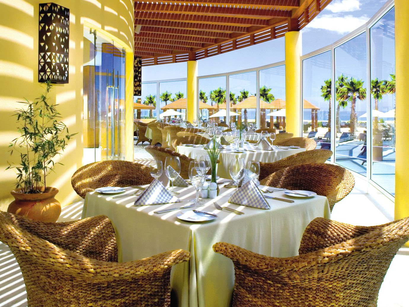 Outdoor restaurant at Pueblo Bonito Pacifica Golf & Spa Resort