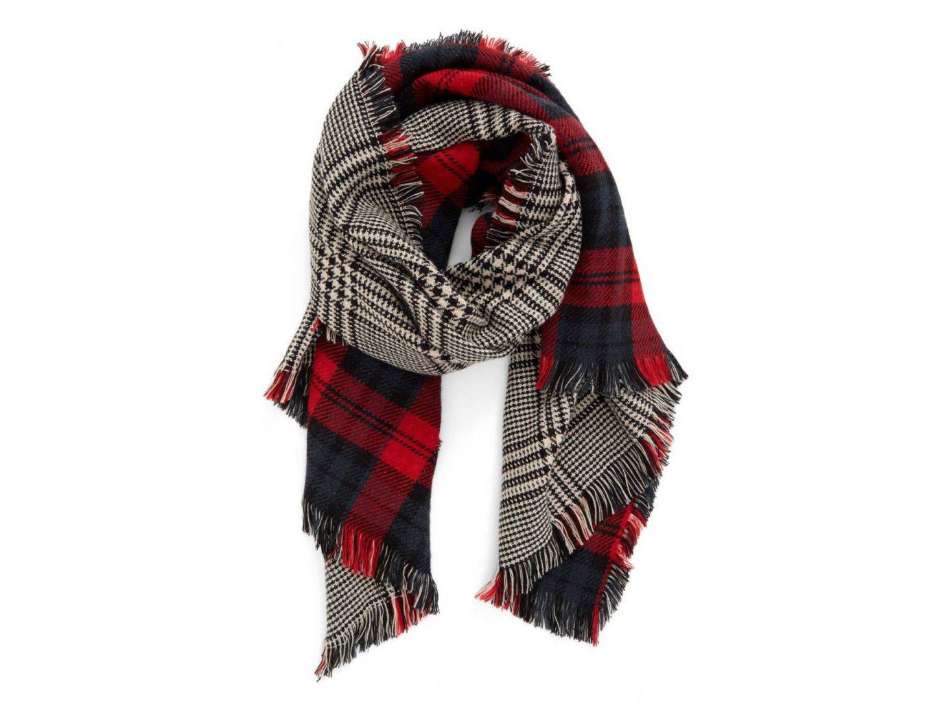Travel Shop scarf tartan stole plaid Design pattern shawl