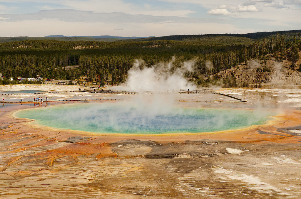 National Parks Trip Ideas outdoor sky grass spring geyser body of water geographical feature landform wilderness water Nature landscape Lake pond national park