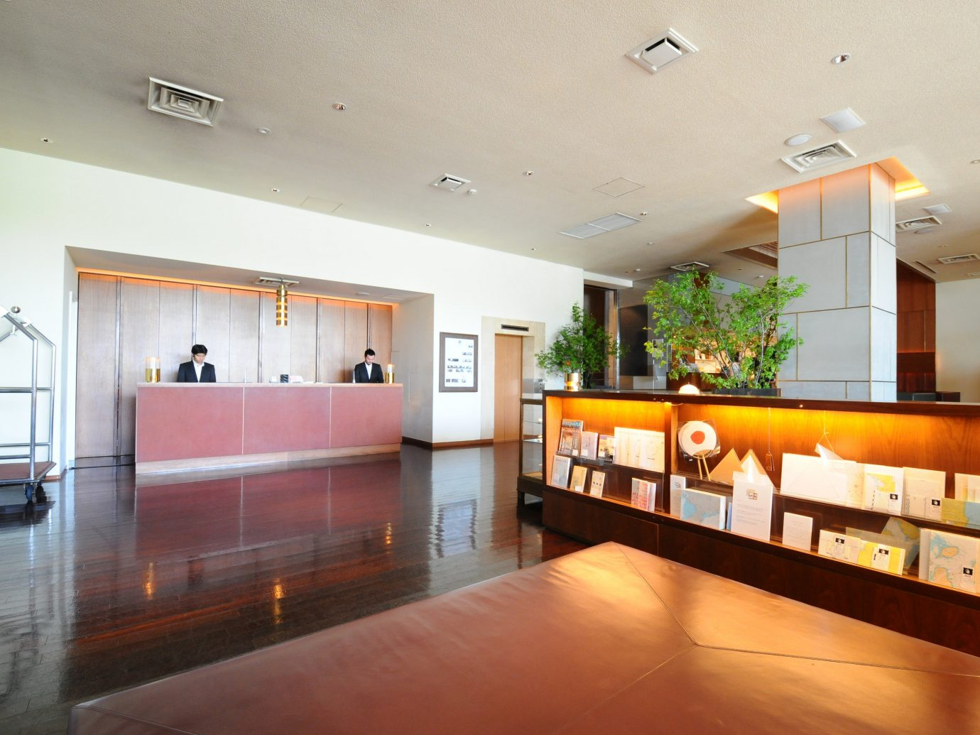 Hotels Japan Tokyo floor indoor wall ceiling Lobby property room Living interior design estate real estate condominium home Design living room furniture wood