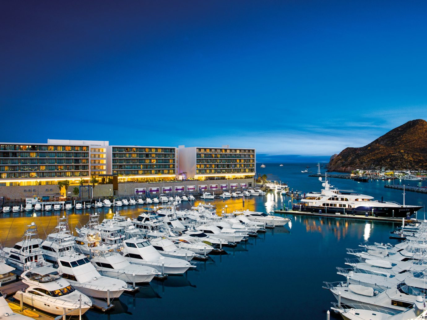 Exterior view of the harbor at Breathless Cabo San Lucas