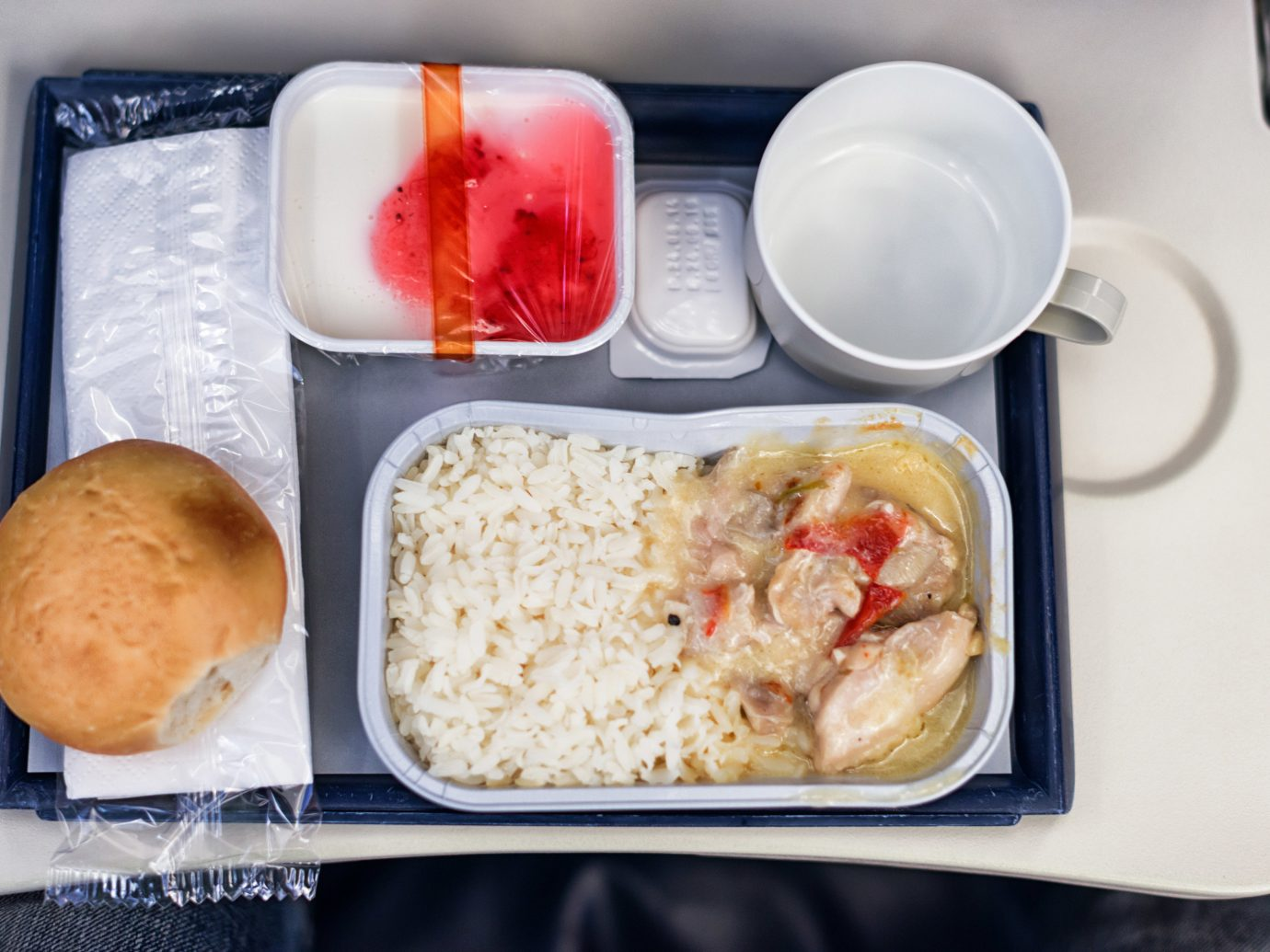 Offbeat food container dish lunch meal plate breakfast rice tray cuisine asian food produce plastic