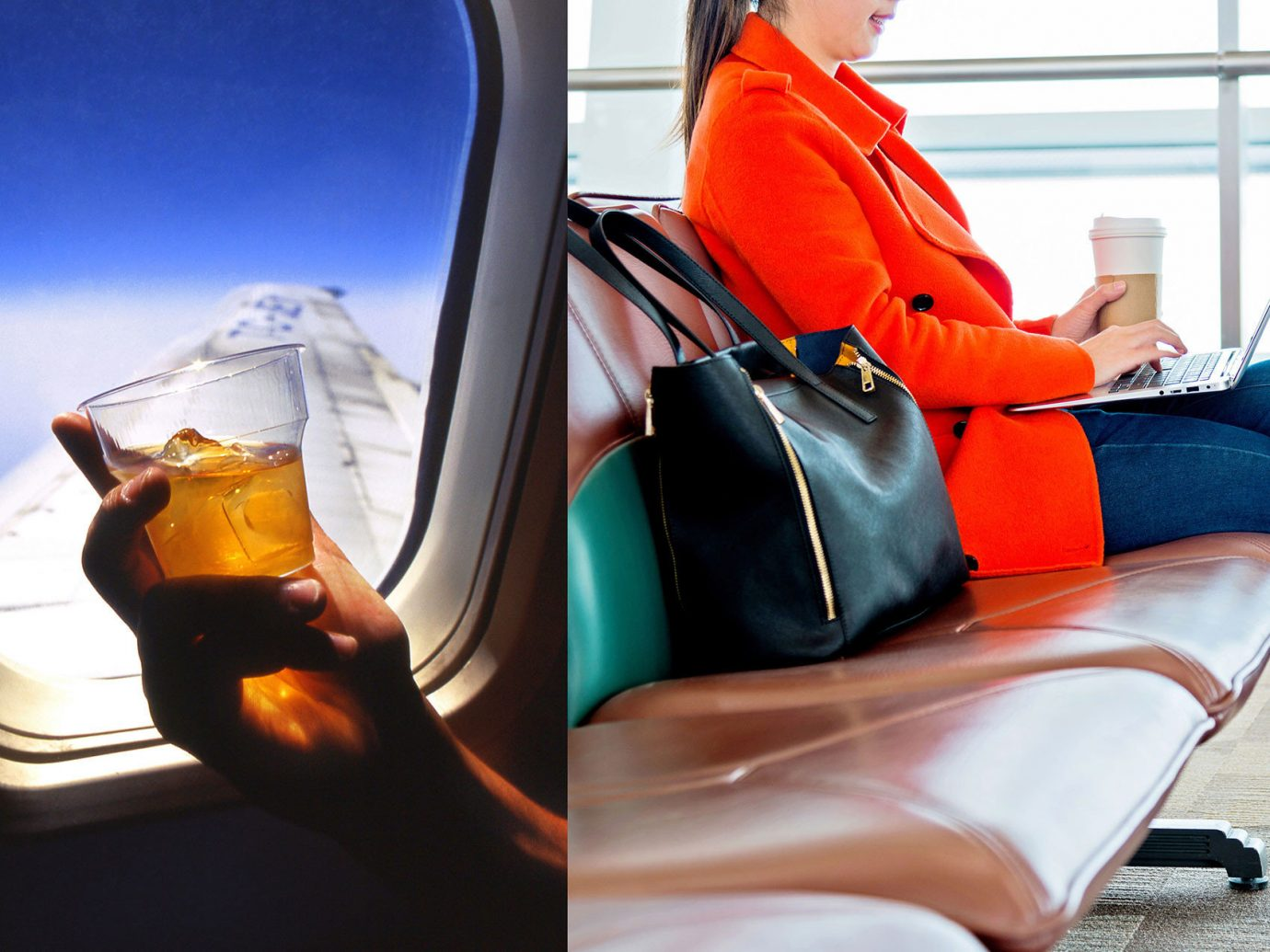 Health + Wellness Travel Tips color window person