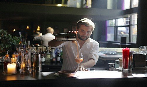 Food + Drink table person indoor bartender professional Drink sense profession Bar drinking