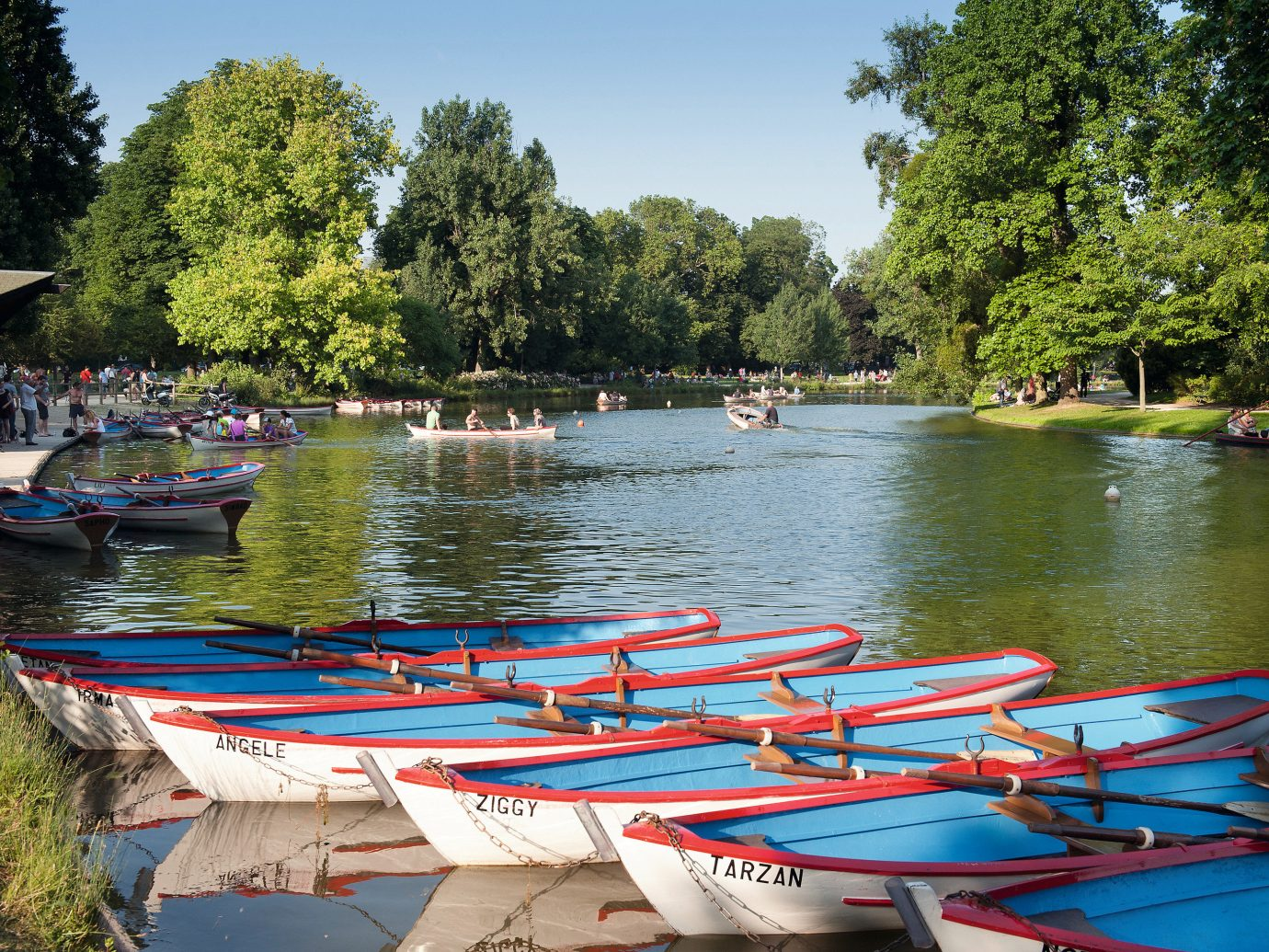 Romance Trip Ideas tree outdoor water sky Boat boating vehicle River watercraft rowing canoe watercraft waterway paddle lined surrounded several