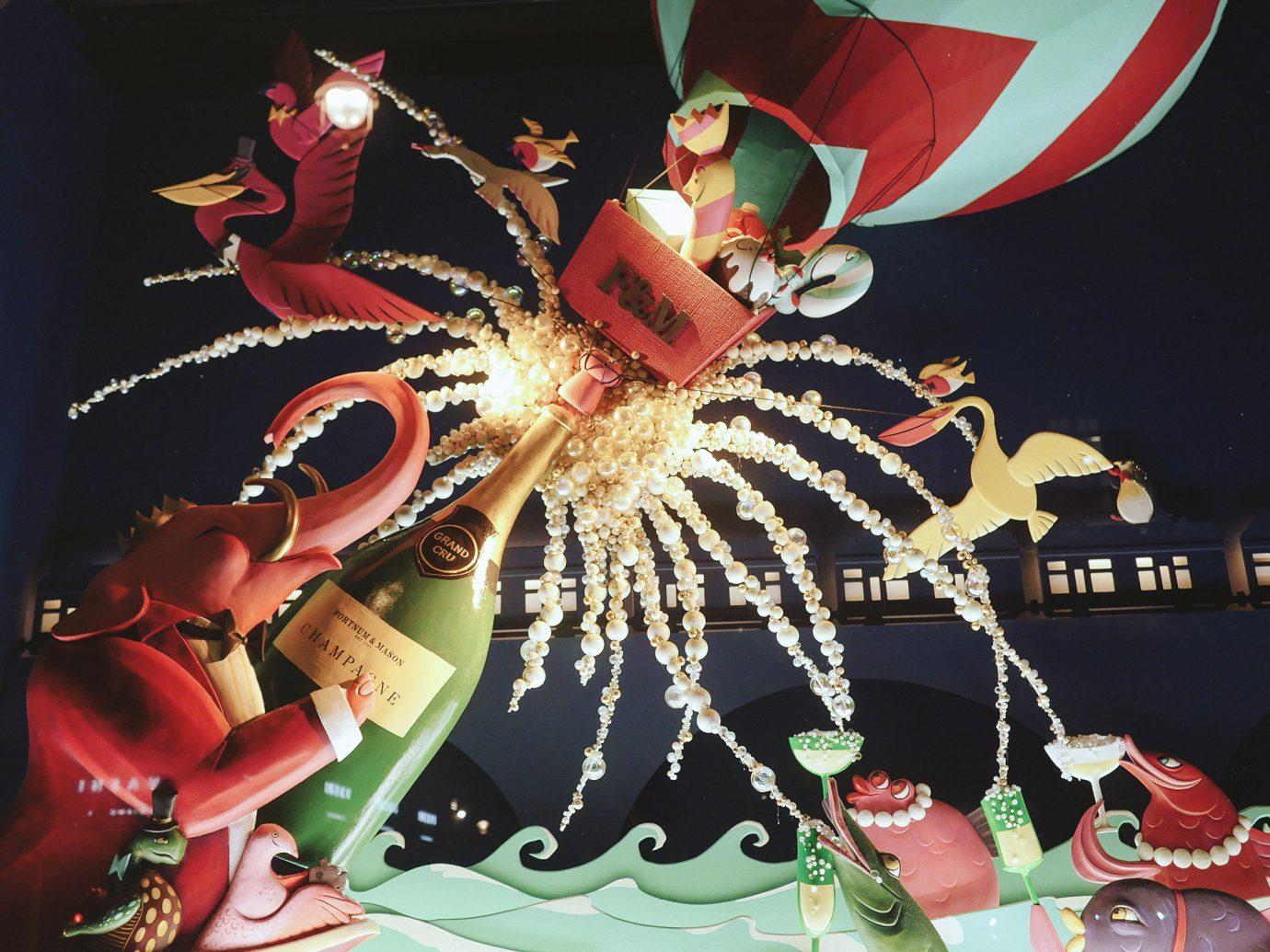 Offbeat Winter art graphics illustration computer wallpaper fête festival carnival