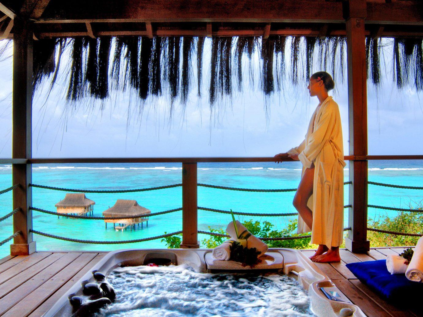 Hotels indoor leisure swimming pool window vacation Resort estate overlooking