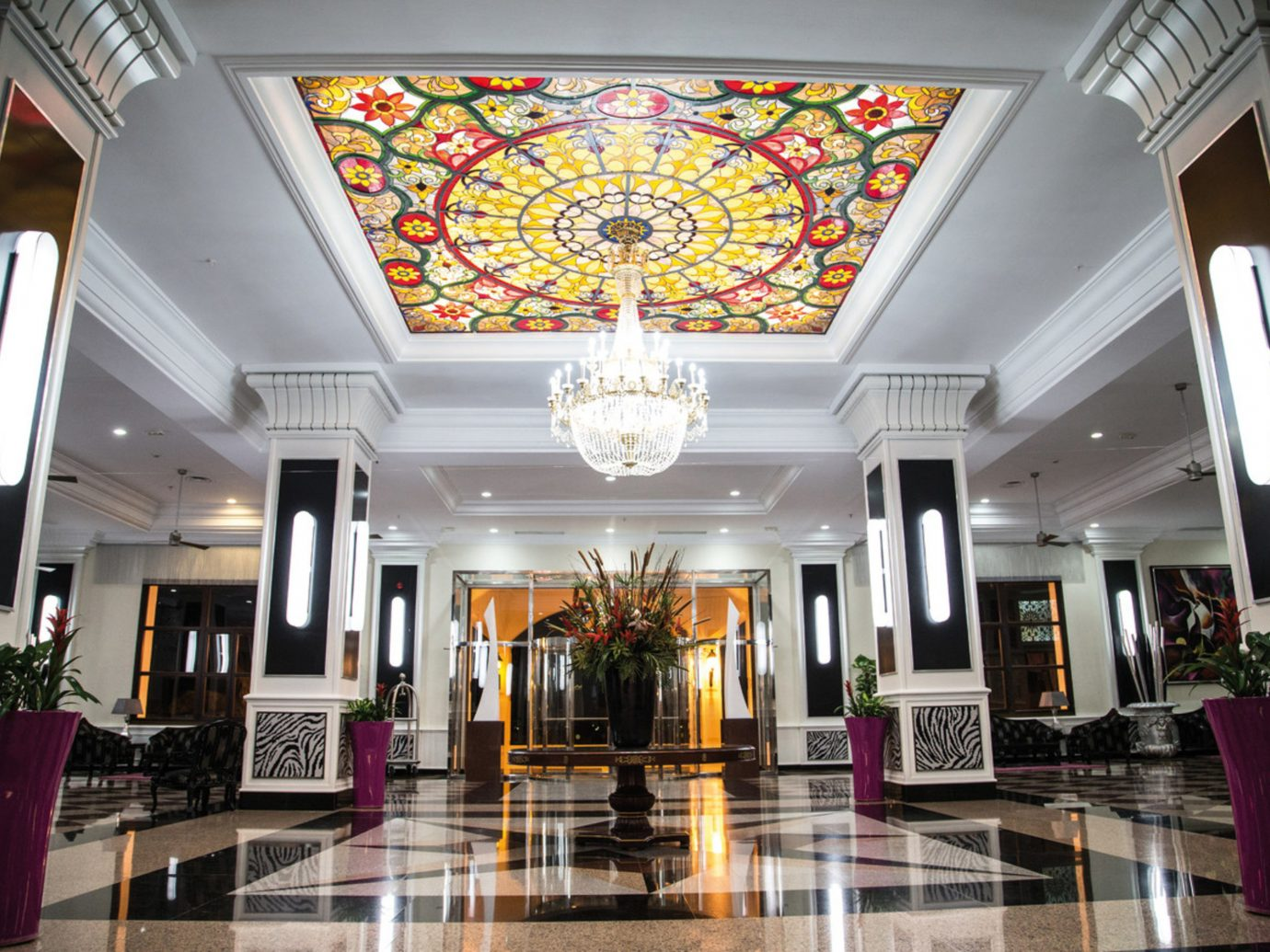 Hotels Lobby indoor building room estate interior design shopping mall ceiling function hall ballroom mansion palace hall furniture
