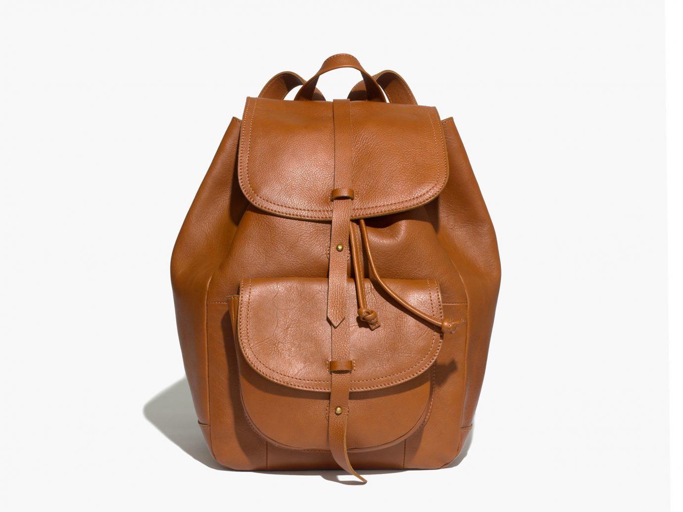 Style + Design accessory bag handbag brown case leather product shoulder bag backpack distilled beverage textile tan