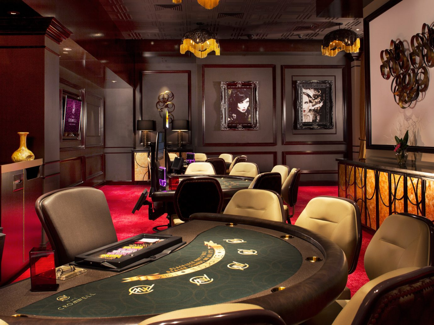 Hotels Lounge Luxury Modern indoor recreation room ceiling room billiard room interior design living room leather