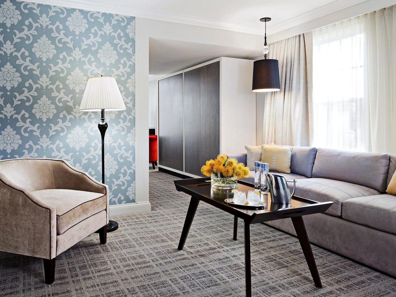 Bedroom Boutique Hotels City Hotels Living Lounge Modern indoor floor wall room property living room Suite interior design home real estate estate Design furniture condominium apartment cottage lamp