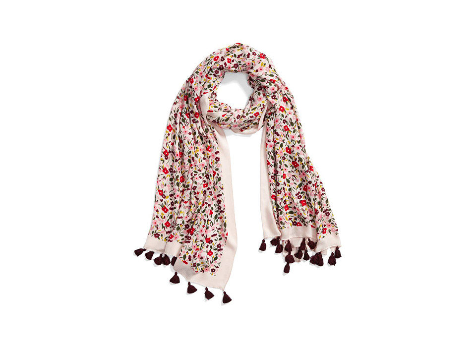 Travel Tips stole scarf shawl