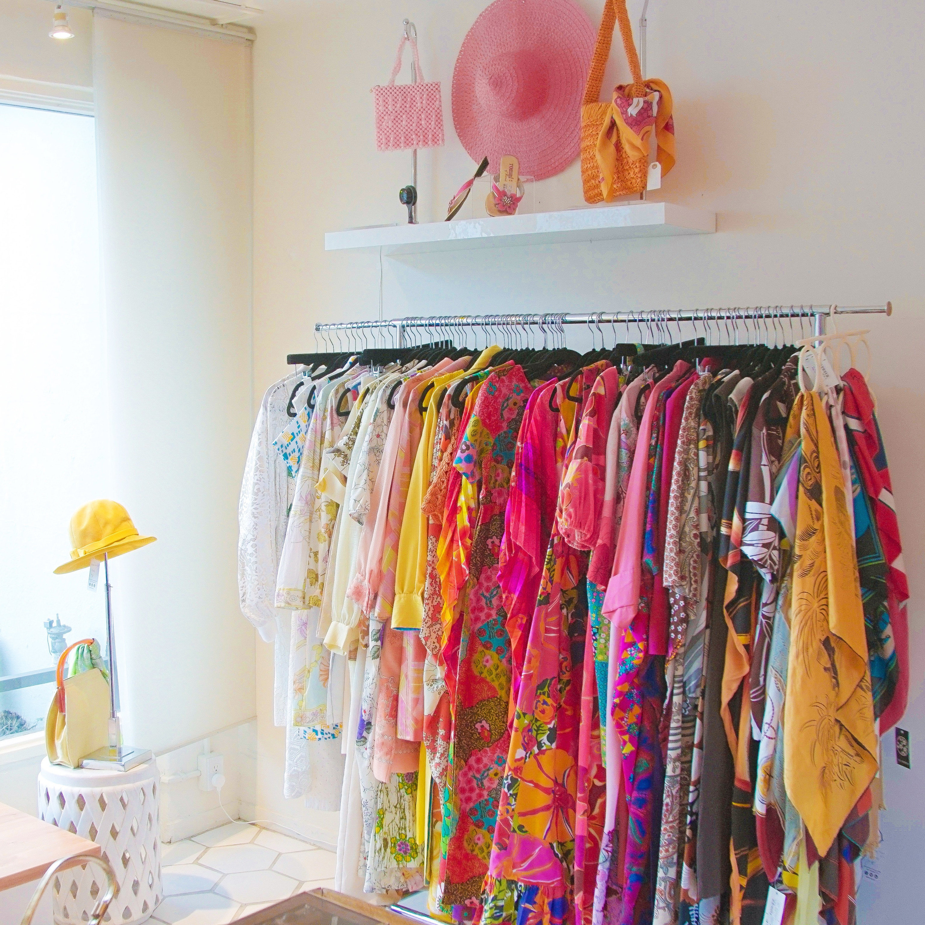 Jetsetter Guides wall color indoor room curtain hanging closet furniture colorful textile colored Bedroom decorated clothes rack