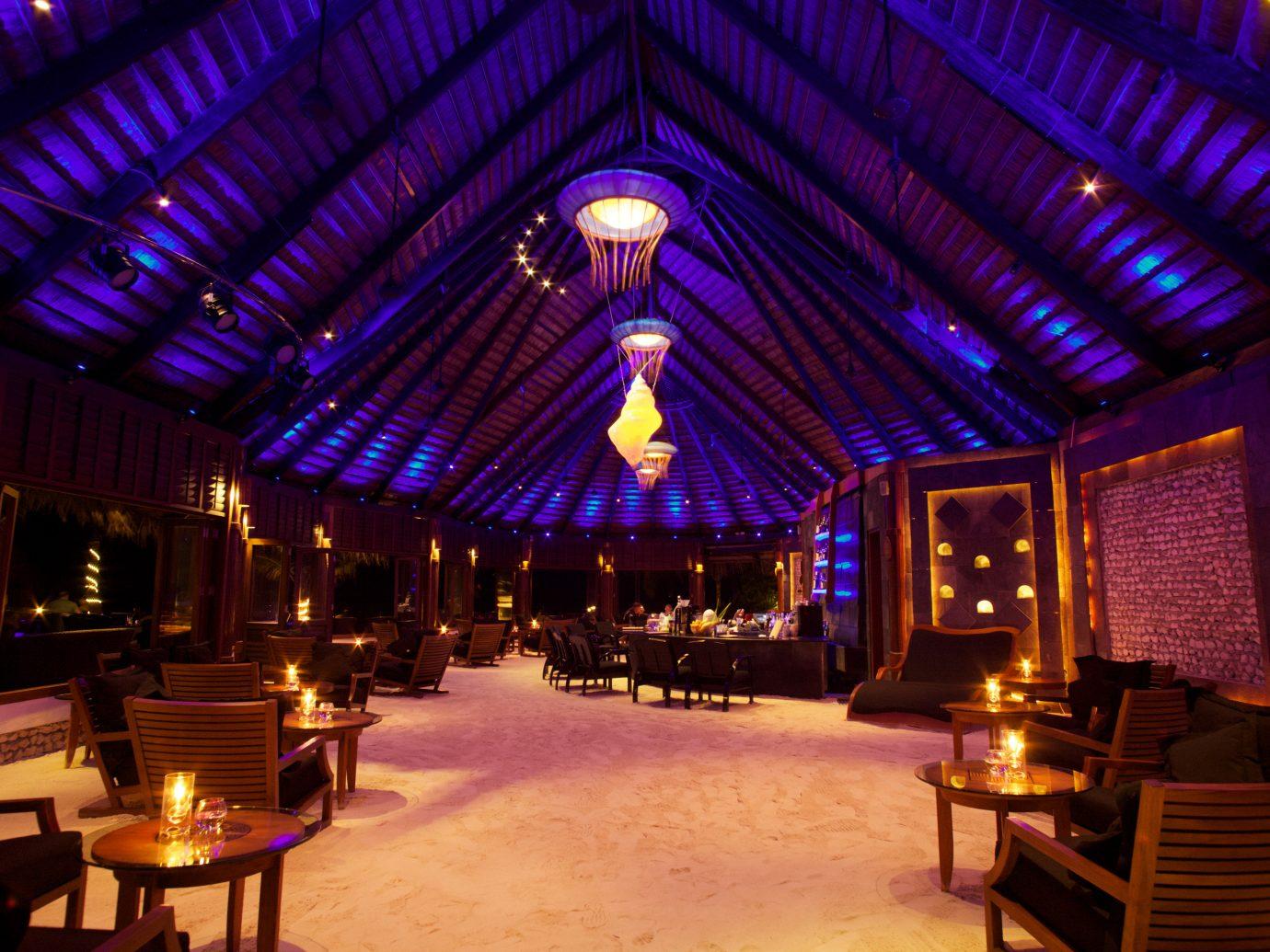 All-Inclusive Resorts Hotels indoor ceiling night Resort lighting nightclub estate restaurant several