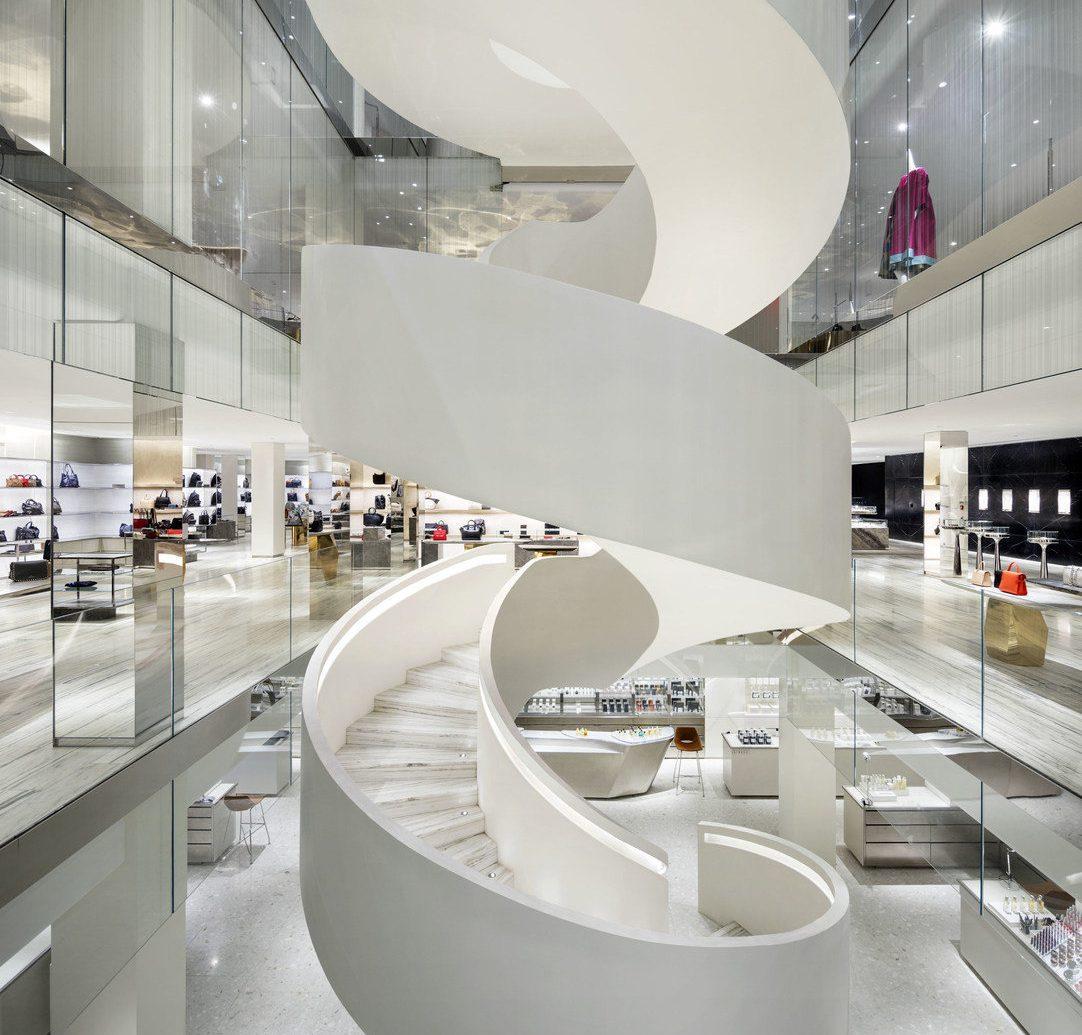 NYC Shops Style + Design indoor interior design Architecture product design ceiling tap daylighting floor toilet interior designer counter