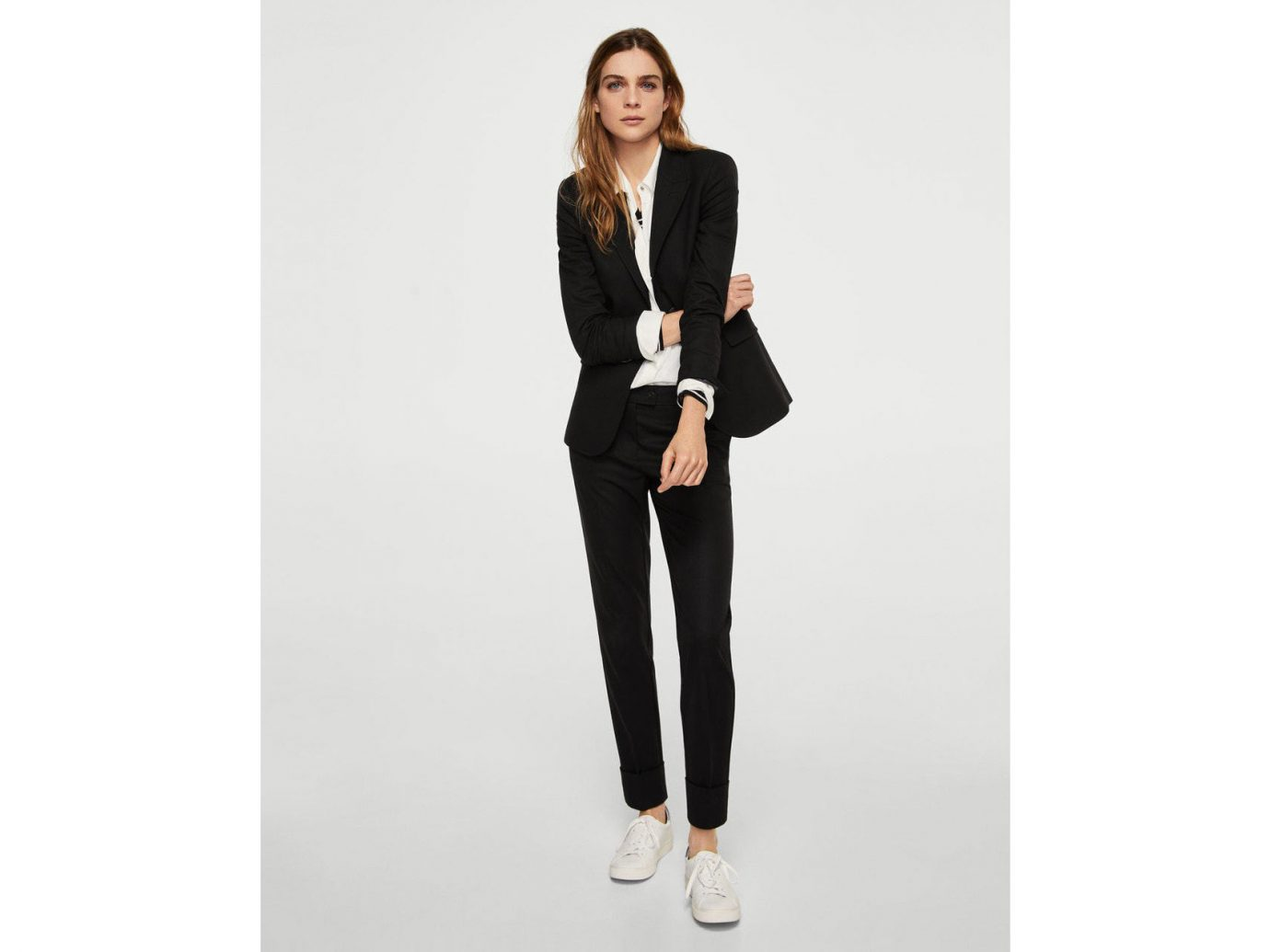 France Style + Design Travel Shop clothing standing woman suit posing fashion model person shoulder shoe formal wear outerwear jeans trousers joint blazer neck waist trouser dressed female