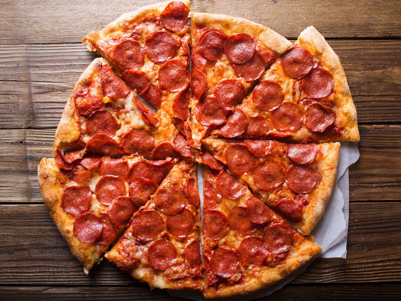 Trip Ideas pizza slice food wooden sitting dish pepperoni board cuisine piece sliced italian food meat produce salt cured meat cut european food baked goods dessert wood square fresh pan