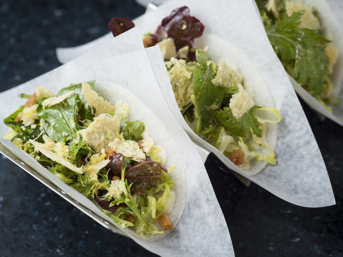 Trip Ideas food dish paper cuisine container taco taquito tray meal salad street food asian food caesar salad produce plastic
