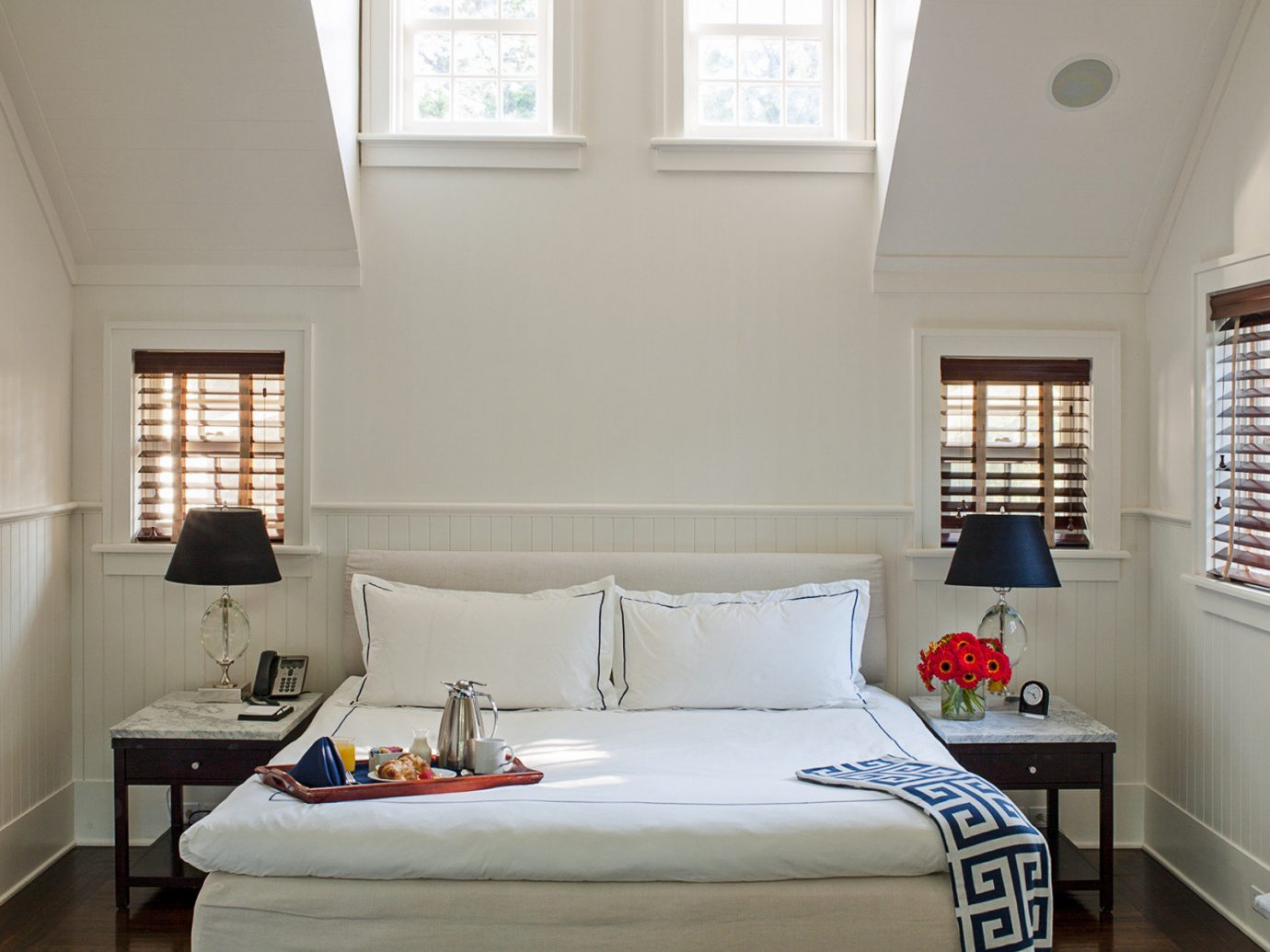 Beach South Fork The Hamptons indoor wall window floor room bed home Bedroom bed frame interior design ceiling furniture window covering real estate living room daylighting window treatment house mattress estate decorated