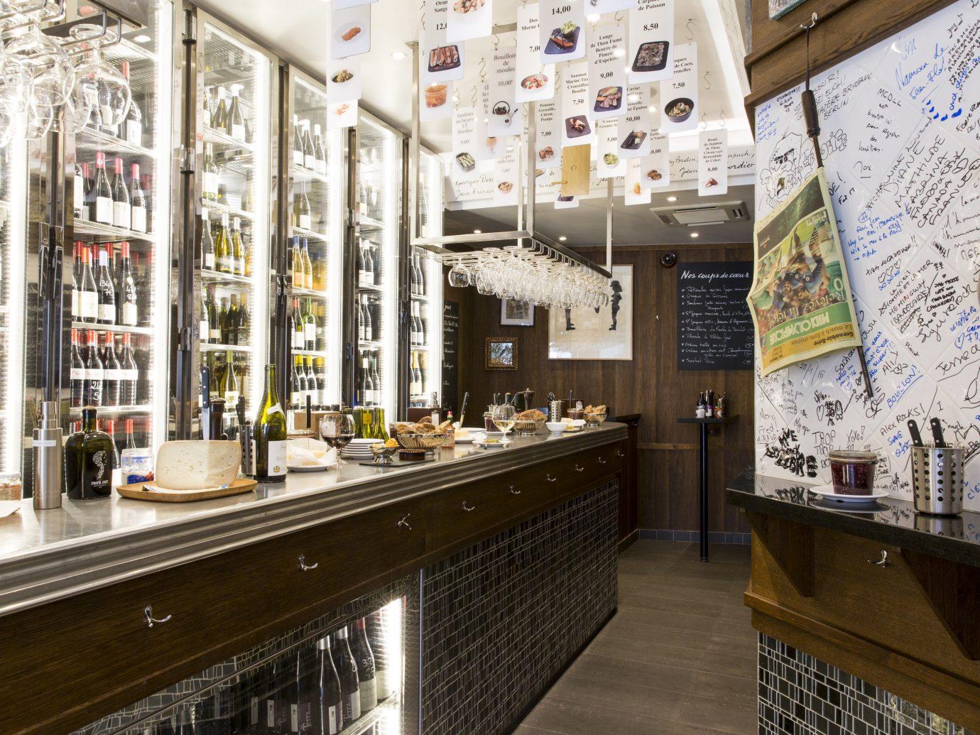 Food + Drink indoor restaurant interior design Bar shopping mall retail Design counter Lobby