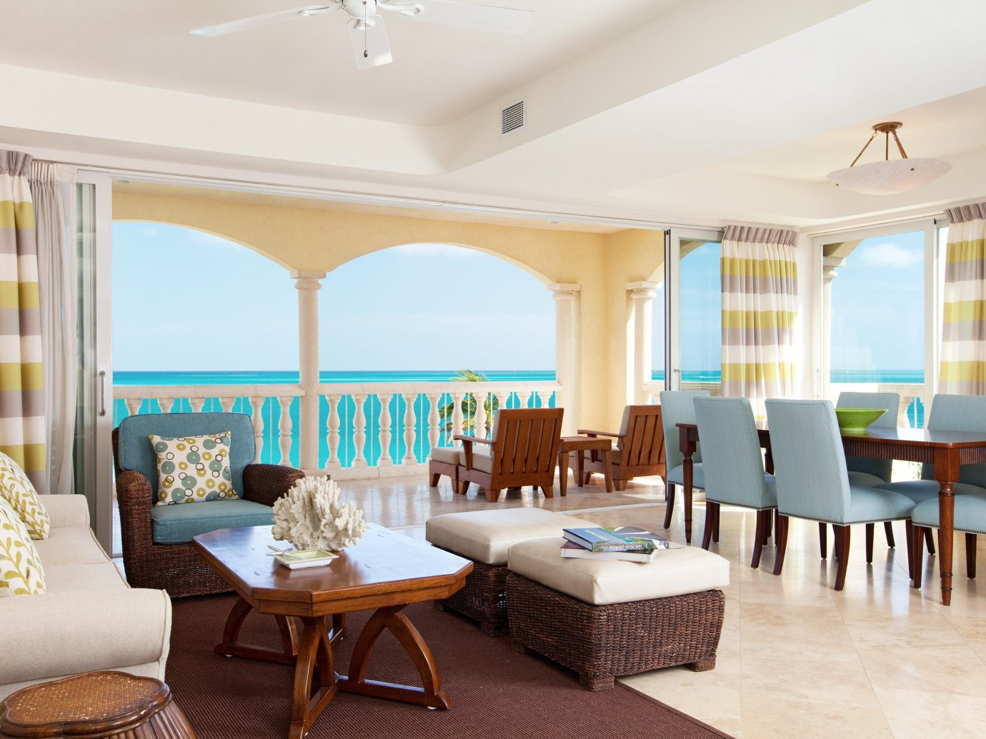 Beachfront Bedroom Hotels Living Luxury Romance Trip Ideas indoor ceiling floor room wall window property dining room estate living room furniture Resort Suite interior design home real estate Villa condominium function hall restaurant area