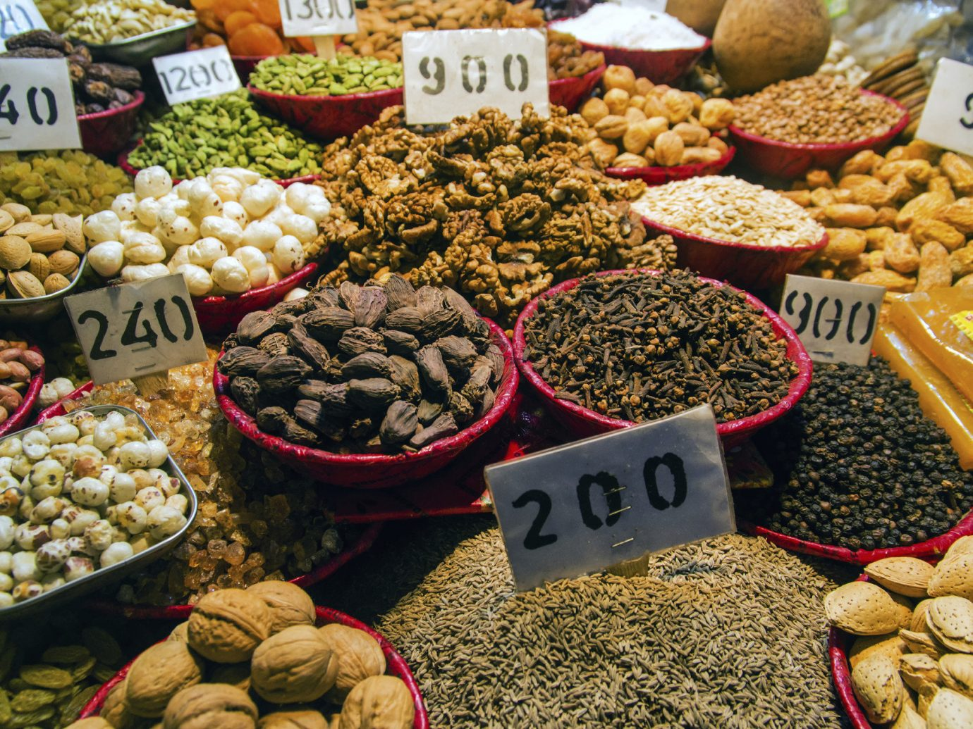 Travel Tips food market City marketplace public space human settlement plant fruit different bazaar produce dried fruit flower flavor items various variety assorted assortment several fresh arranged vegetable