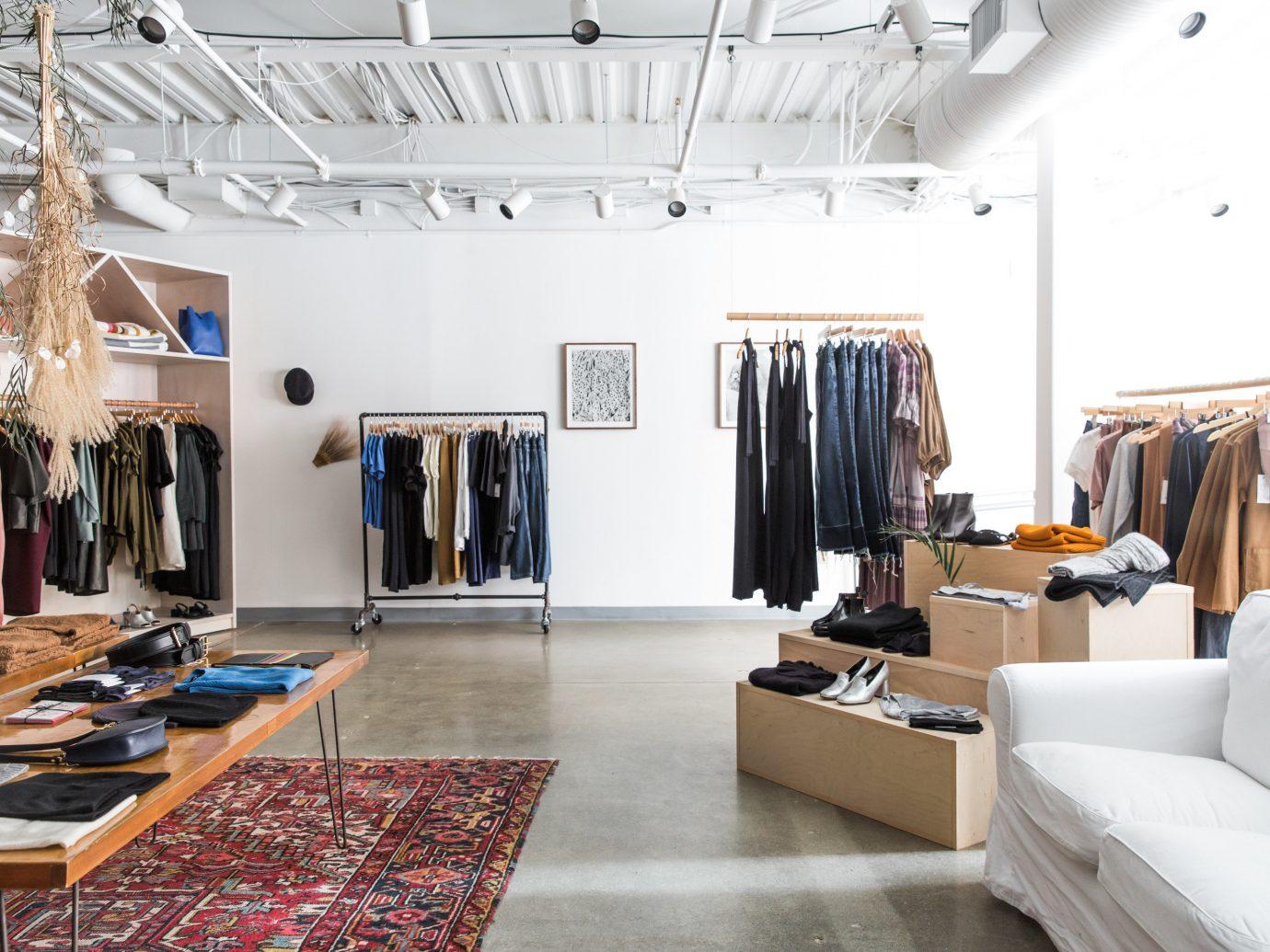 Influencers + Tastemakers indoor floor room Boutique ceiling interior design flooring retail loft buyer furniture area several