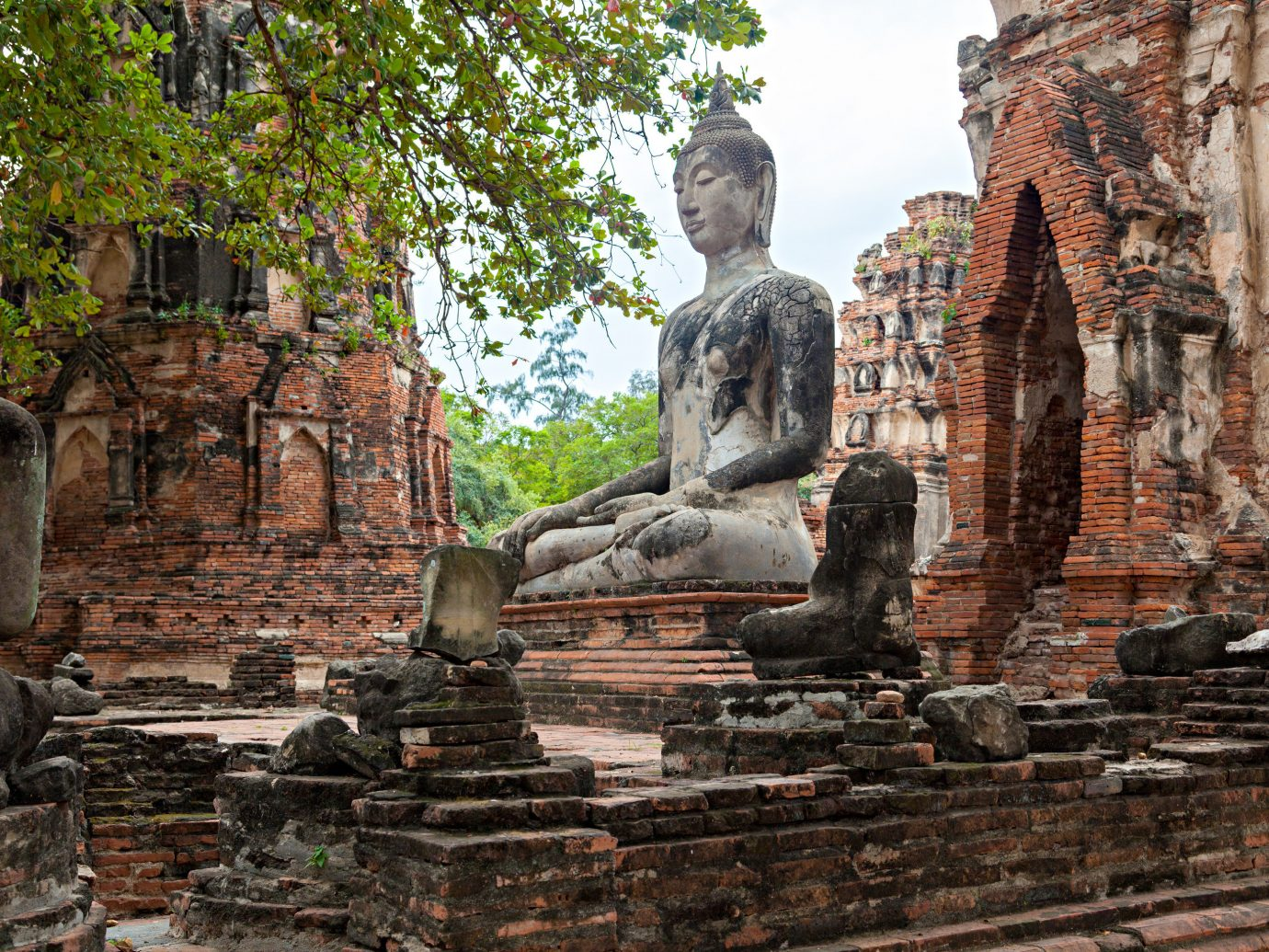 Jetsetter Guides building outdoor stone archaeological site Ruins brick ancient history rock wat statue monument place of worship temple hindu temple
