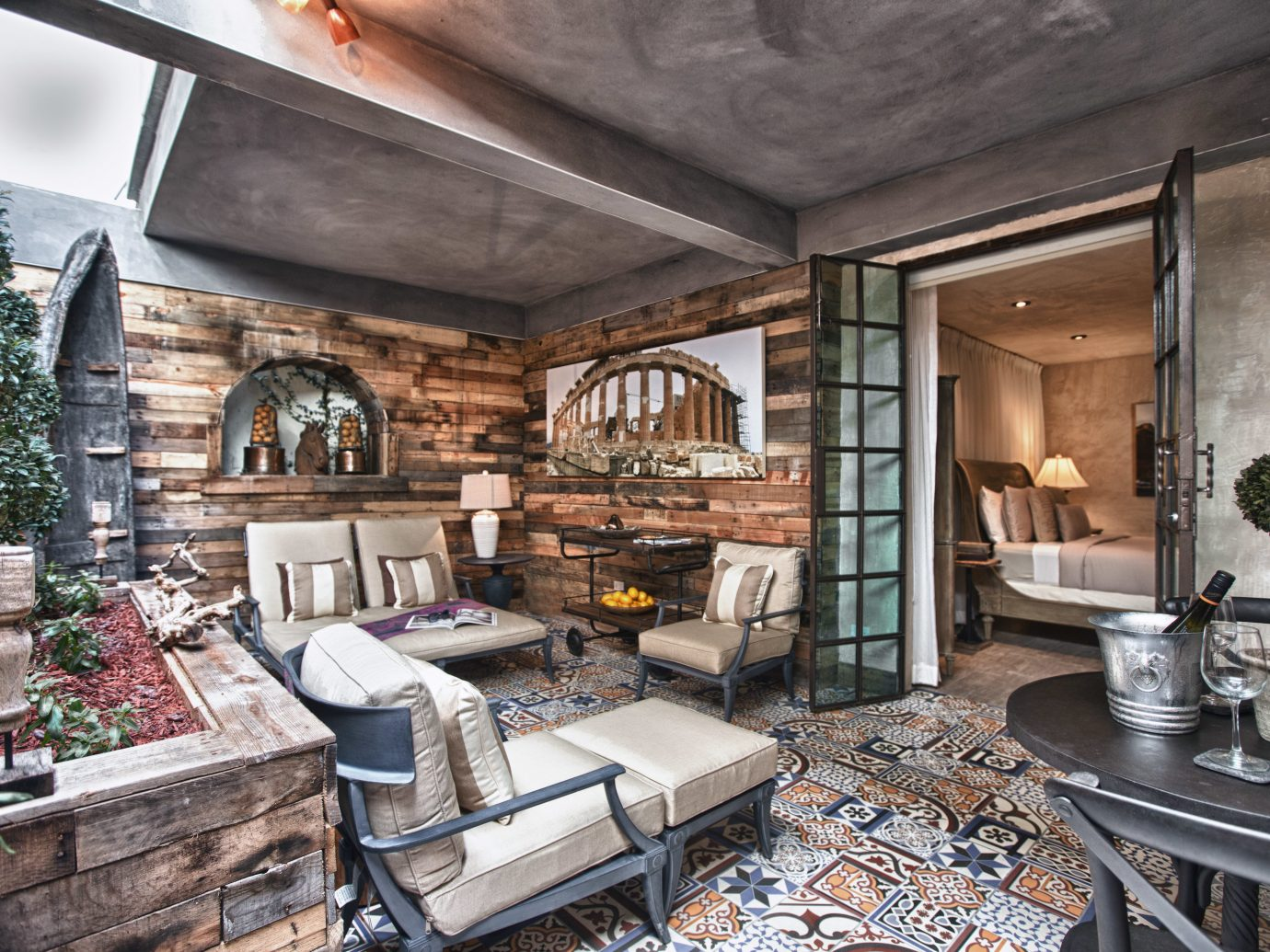 Hotels Romance Trip Ideas indoor room property living room home ceiling estate house interior design real estate mansion farmhouse cottage Kitchen furniture stone