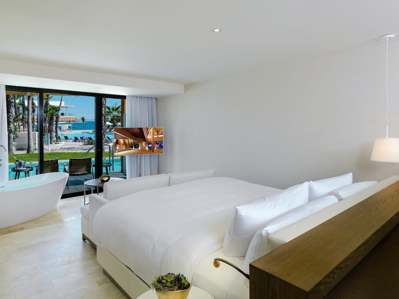 Bedroom at Paradisus Los Cabos