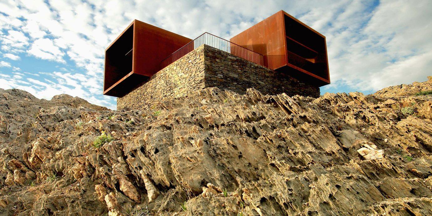 Offbeat outdoor mountainous landforms rock mountain rocky mountain range terrain hillside