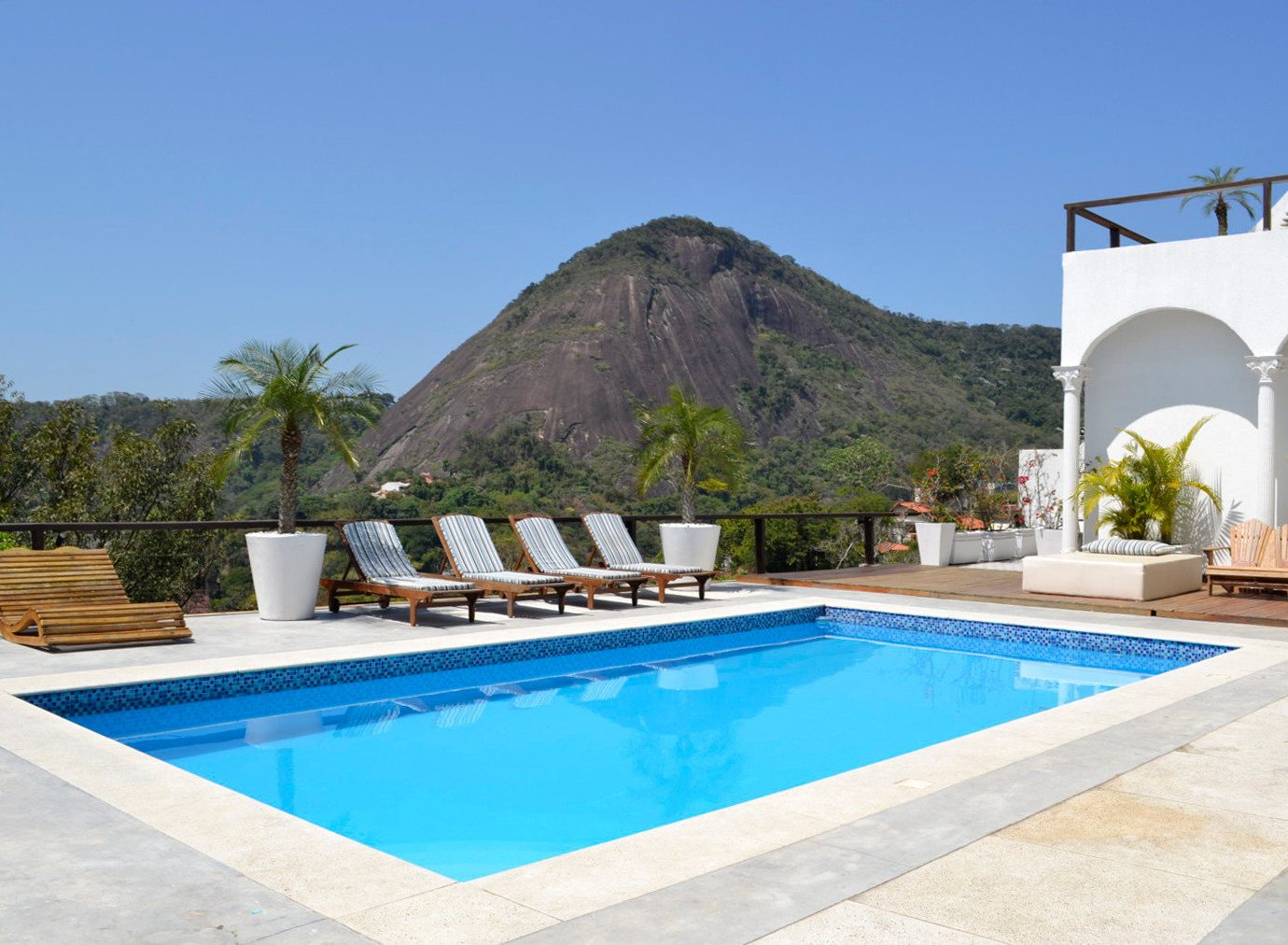 Hotels Romance sky Pool outdoor property swimming pool mountain estate Villa leisure real estate Resort blue vacation swimming amenity house