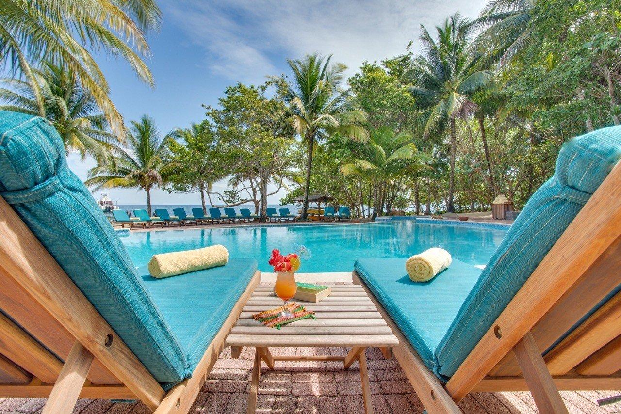 Pool At Hamanasi Adventure And Dive Resort In Belize