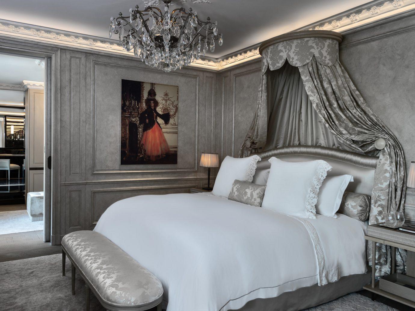 Hotels Luxury Travel indoor bed wall sofa floor room interior design ceiling Bedroom home Suite bed frame furniture window bed sheet interior designer mattress