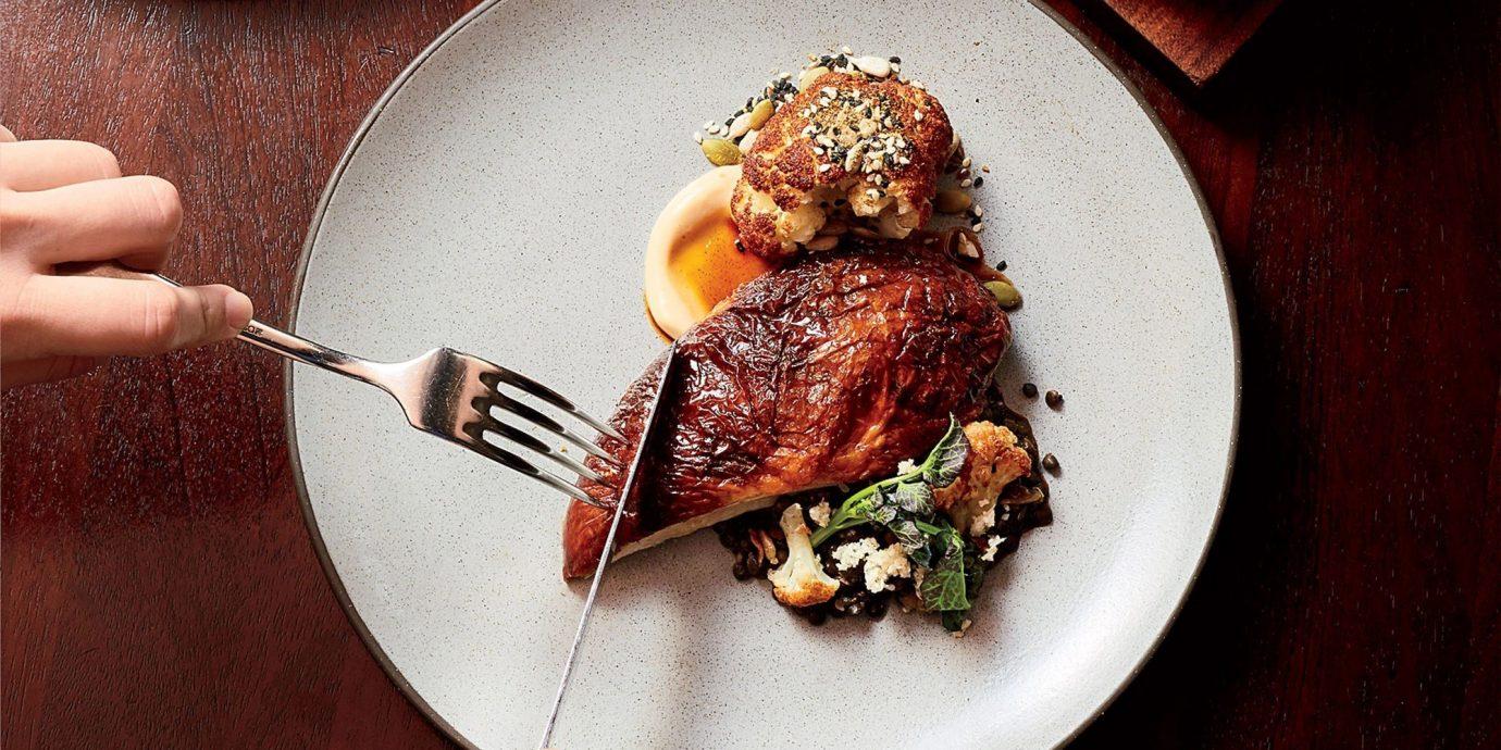 Food + Drink plate food dish meat indoor produce roasting meal steak dinner