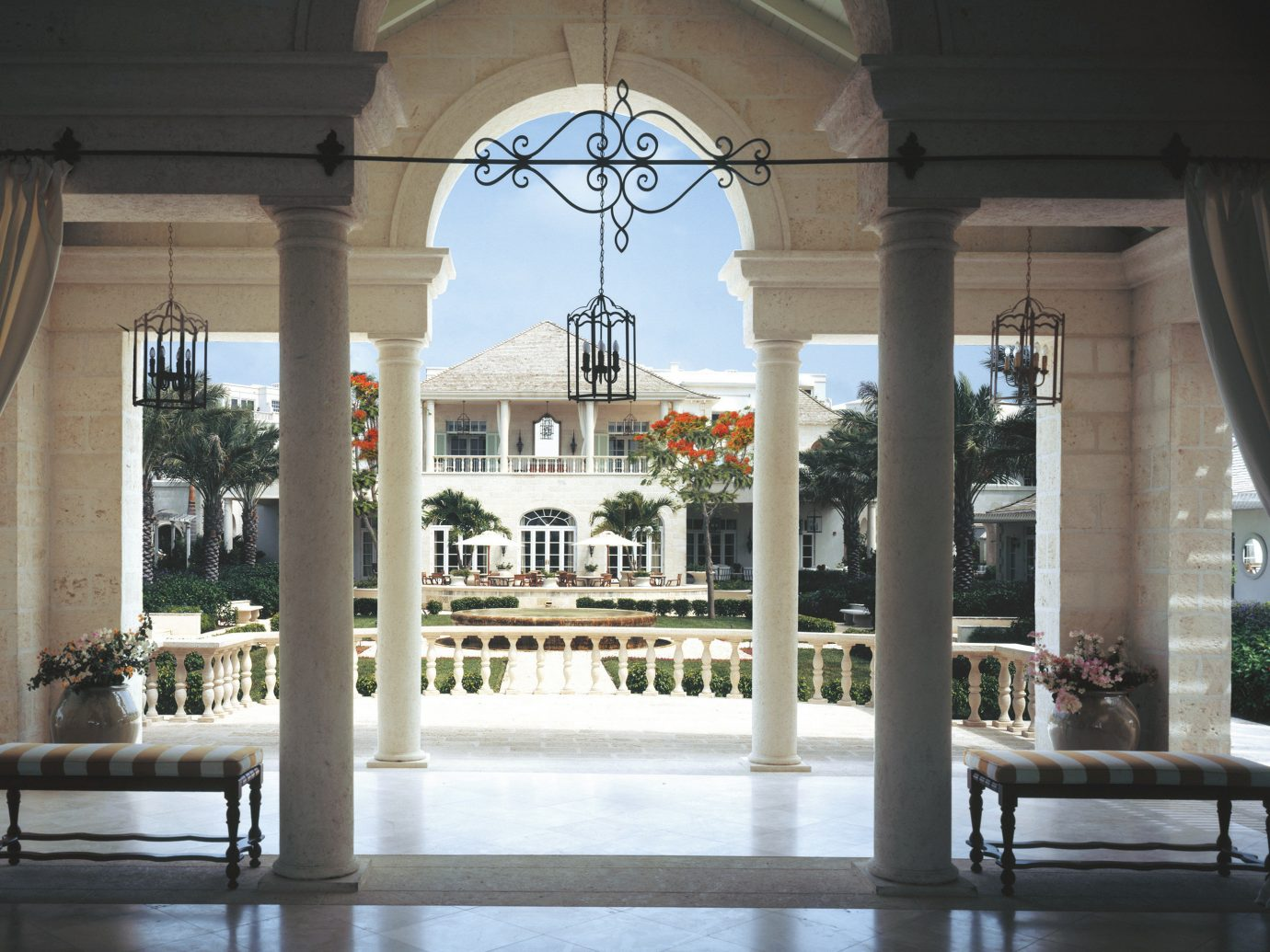 Hotels Romance building structure Architecture estate interior design column home tourist attraction palace window museum area court furniture colonnade