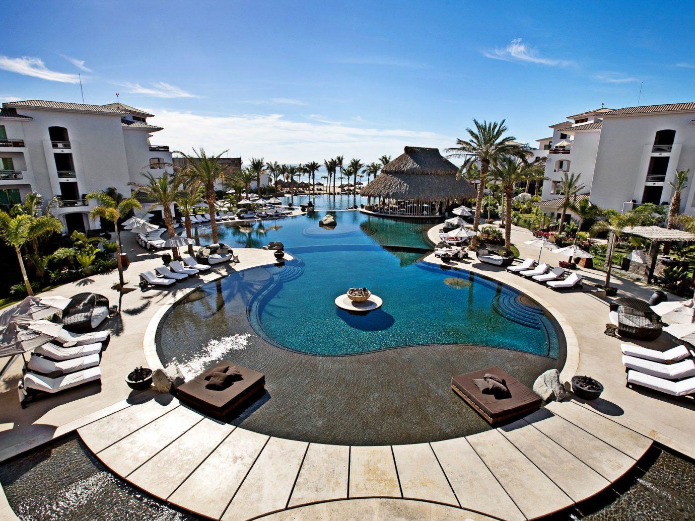 Budget Hotels sky outdoor ground swimming pool property leisure estate backyard Resort mansion Villa condominium sandy day