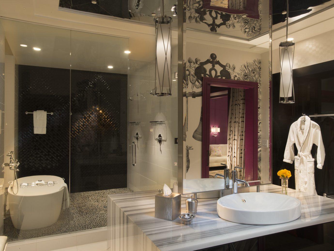 Boutique Hotels Hotels Philadelphia room interior design bathroom flooring ceiling public toilet