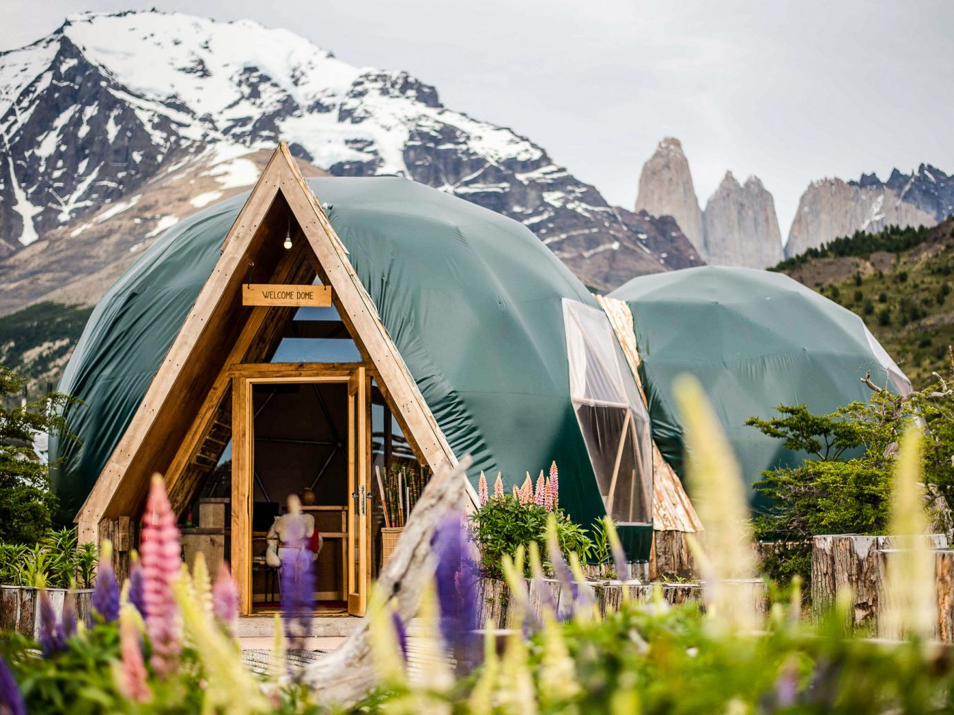 home hut dome tent plant cottage tree house mountain leisure tourism landscape elevation